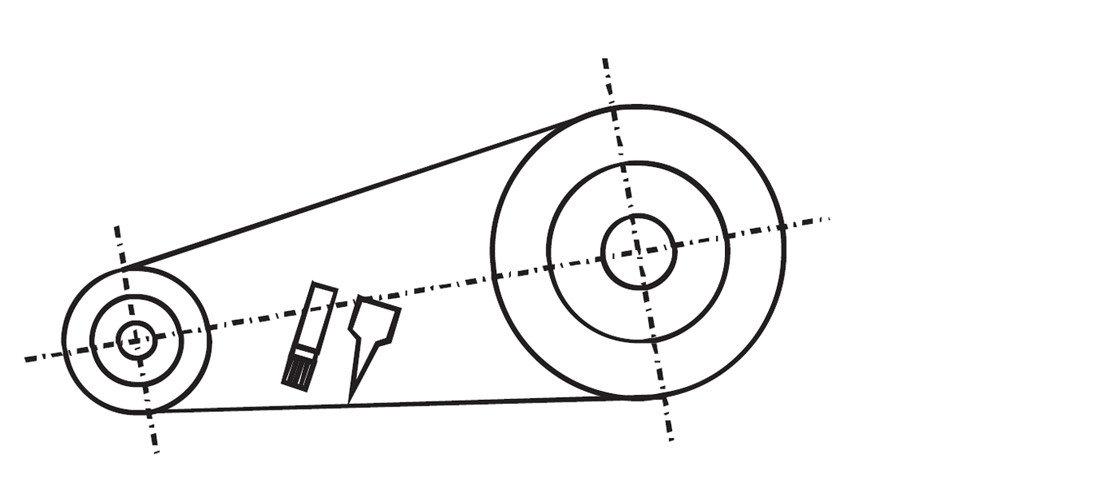 lubricate type A (manual lubrication)