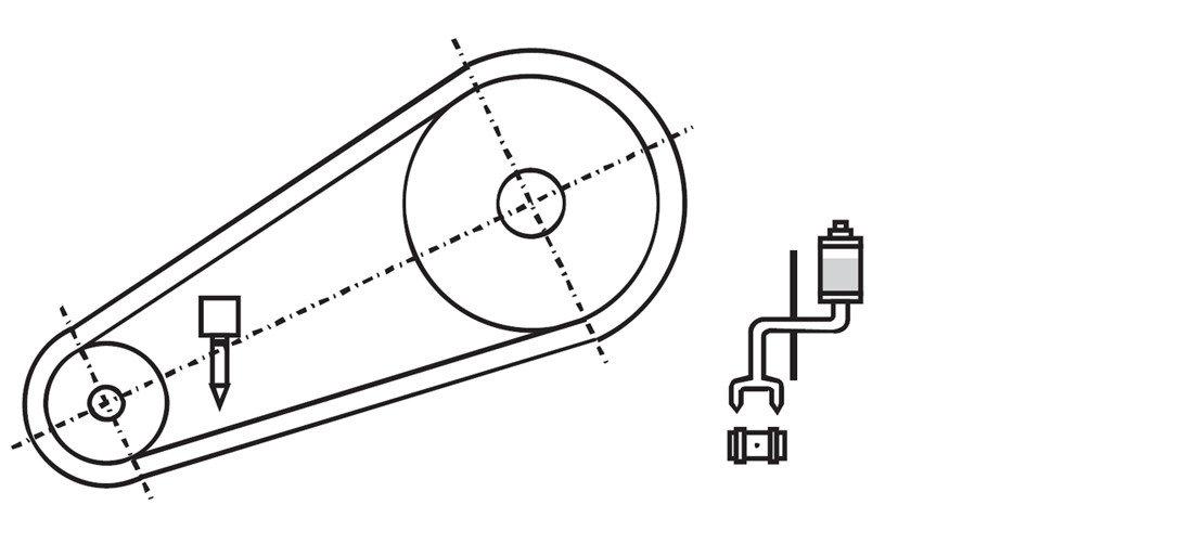 lubricate type A (drip lubrication)