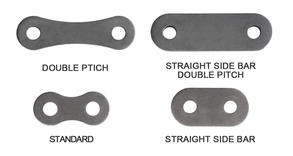 double pitch straight side bar and figure 8